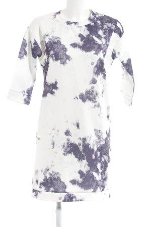 Ichi Vestido de tela de jersey estampado abstracto estilo extravagante