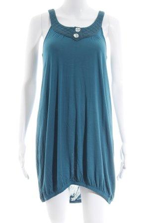 Ichi Jerseykleid kadettblau-petrol Elegant