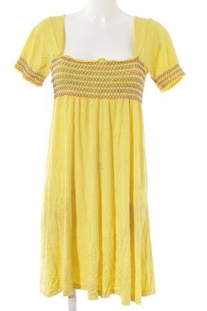 Ichi Jerseykleid mehrfarbig Casual-Look