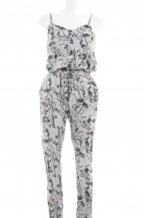 Ichi Jumpsuit abstraktes Muster Casual-Look