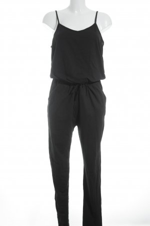 Ichi Jumpsuit schwarz Beach-Look