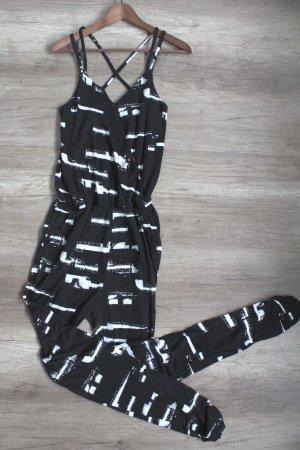 Ichi Jumpsuit schwarz Größe S 1709300210497