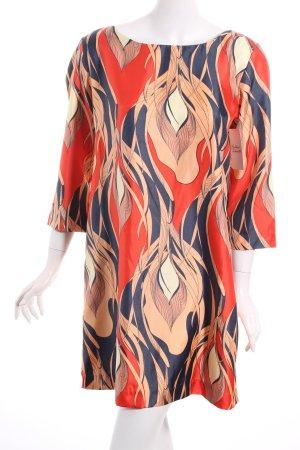 Ichi Kleid abstraktes Muster extravaganter Stil