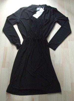 Ichi Kleid Jerseykleid schwarz Gr. M