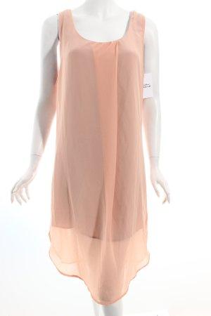 Ichi Kleid nude-grau Romantik-Look