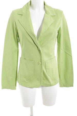 Ichi Kurz-Blazer grün Casual-Look