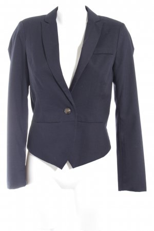 Ichi Kurz-Blazer schwarz Business-Look