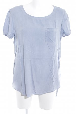 Ichi Kurzarm-Bluse himmelblau Casual-Look