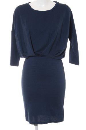 Ichi Langarmkleid blau Elegant
