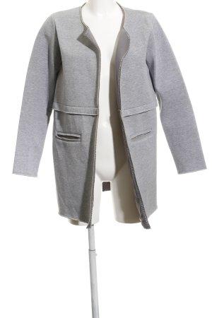 Ichi Lange Jacke hellgrau-grau meliert Casual-Look