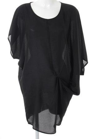 Ichi Long-Bluse schwarz Elegant