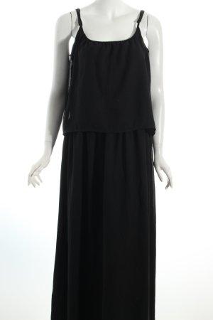 Ichi Maxikleid schwarz Elegant