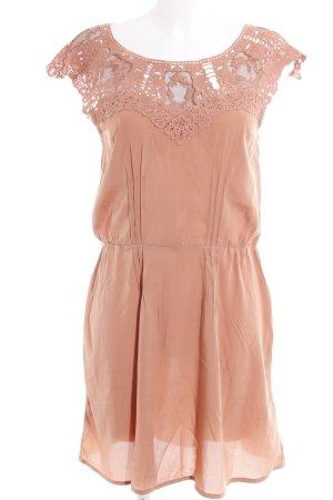 Ichi Minikleid apricot Elegant