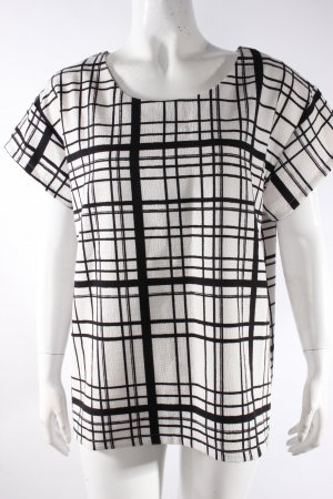 Ichi Oversize-Shirt Gitterkaro