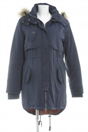 Ichi Parka blue casual look