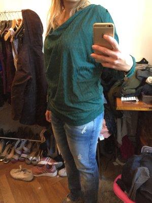 ICHI Pullover dunkelgrün