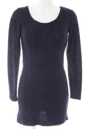 Ichi Sweater Dress dark blue casual look