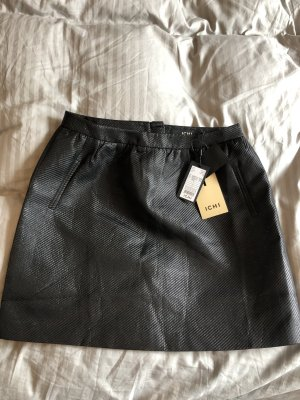 Ichi Ballonrok zwart Polyester
