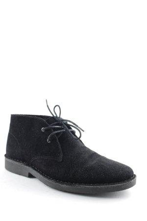 Ichi Schnürschuhe schwarz Casual-Look