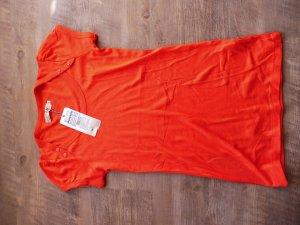 Ichi Shirt Orange Neu mit Etikett Gr M