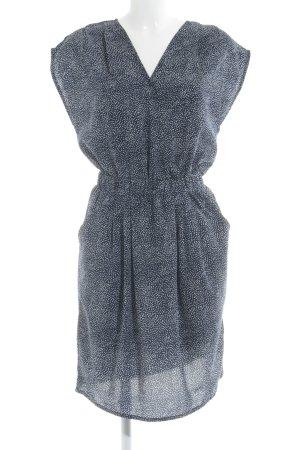 Ichi Shirtkleid dunkelblau-weiß Casual-Look