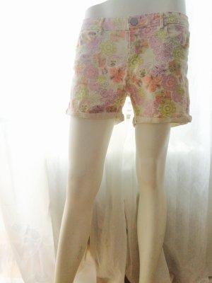 ICHI Shorts Hot Pants Geblümt Größe 40/ L
