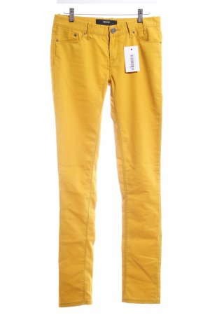 Ichi Stretch Jeans dunkelgelb Casual-Look