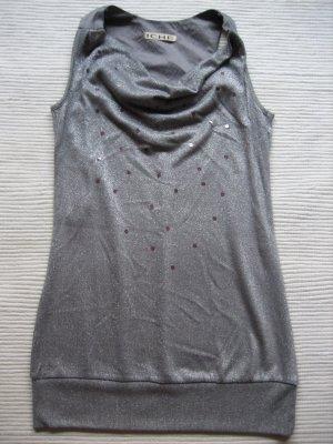 ichi top silber gliyzer neu kanrbeval gr. s 36 bluse