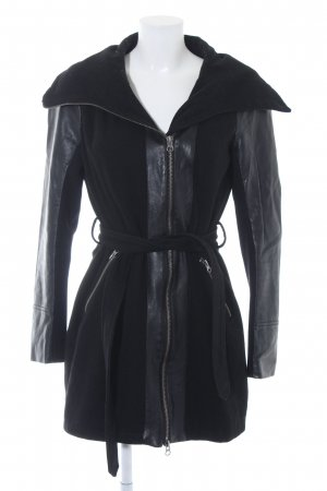 Ichi Trenchcoat schwarz Casual-Look