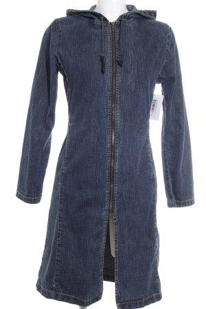 Ichi Übergangsmantel dunkelblau Street-Fashion-Look