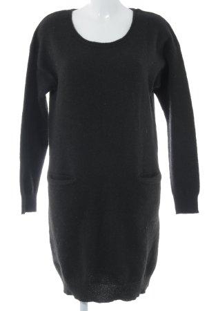 Ichi Wollkleid schwarz Casual-Look