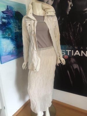 ICHy Designer kurz Mantel Jacke Rich & Royal maxirock Shirt small