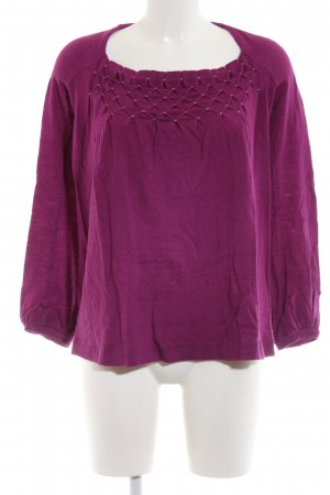 icke Strickpullover pink Casual-Look