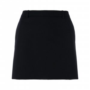 Iconic Le Smoking Tuxedo Saint Laurent Mini Skirt