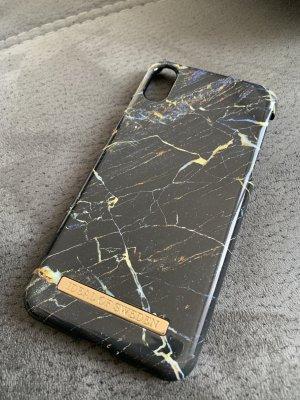 Hoesje voor mobiele telefoons goud-donkerblauw