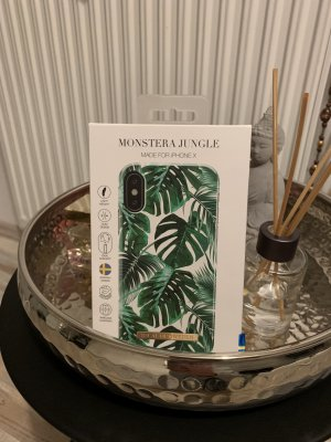 Hoesje voor mobiele telefoons wit-groen