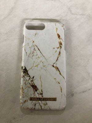 Ideal Étui pour téléphone portable blanc-doré