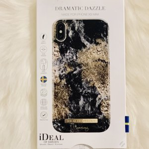Ideal Mobile Phone Case black-gold-colored