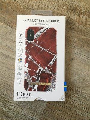 iDeal of Sweden Marmor Handyhülle iPhone X