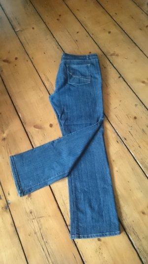 Slim jeans blauw Katoen