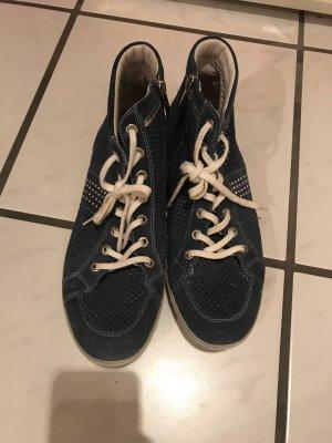 Lace-Up Sneaker blue-dark blue