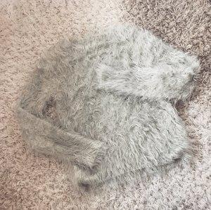 IHeart Fluffy Sweater Jumper Jades Faux Fur Kuschel Fell Pullover Strick