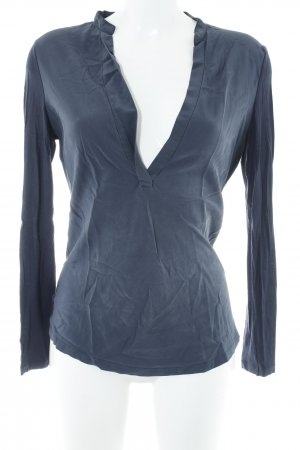 iheart Long Top dark blue classic style