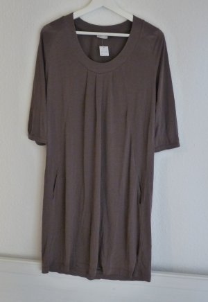 iHeart Midikleid Kleid M 40 *NEU* taupe grau braun Basic Casual Fashion Blogger