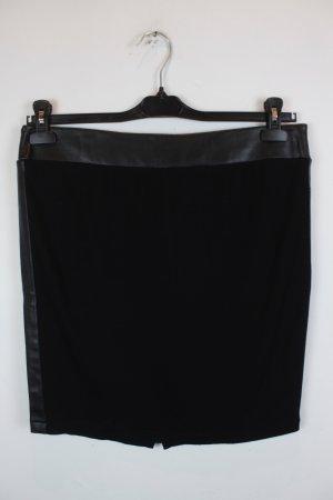 iheart Gonna lavorata a maglia nero Tessuto misto