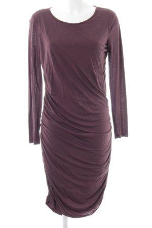 iheart Vestido de tubo marrón elegante
