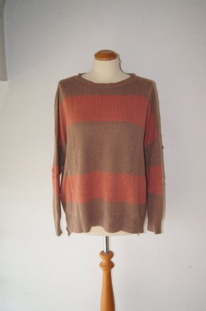 iheart Strickpullover Wolle Cashmere Wollpullover Oversized