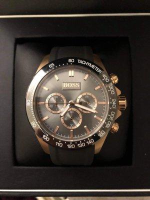 Hugo Boss Self-Winding Watch black-rose-gold-coloured