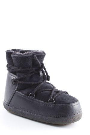 Ikkii Low boot noir style extravagant