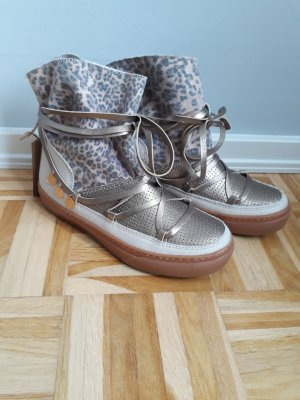 IKKII Sneaker-Boots Gold/Leo in Gr. 39